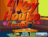 4 Key House Escape