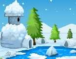 Xmas Snow Village Escape