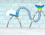 Snowball fort escape