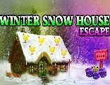 Winter Snow House Escape