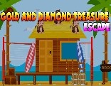 Gold And Diamond Treasure Escape