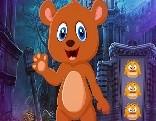 G4K Cartoon Brown Bear Escape