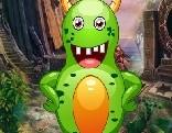 G4K Green Creature Escape
