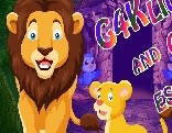 G4K Lion and Cub Escape