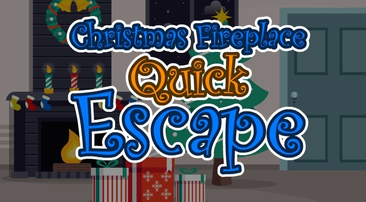 GFG Christmas Fireplace Quick Escape
