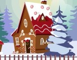 GFG Christmas Gingerhouse Pet Escape