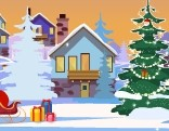 GFG Winterland Christmas Cottage Escape