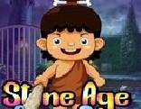 G4K Stone Age Cave Boy Escape