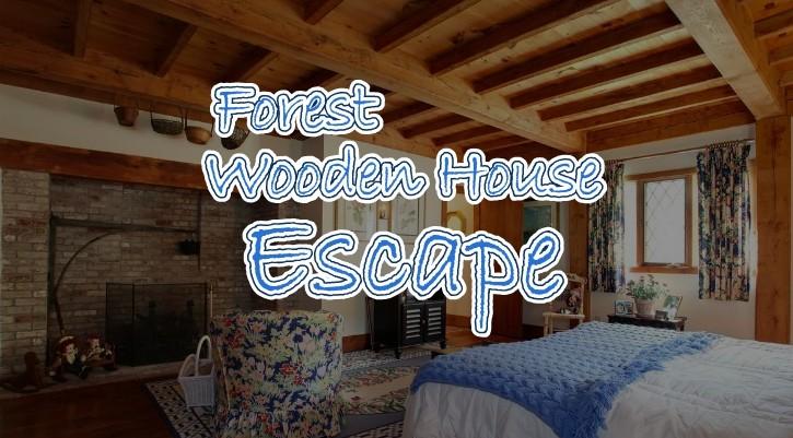 GFG Forest Wooden House Escape