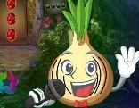 G4K Cartoon Singing Onion Escape