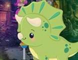 G4K Cartoon Triceratops Escape