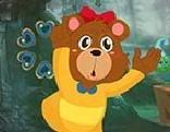 G4K Cute Cartoon Bear Escape