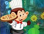 G4K Monkey Pizza Chef Escape