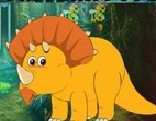 G4K Yellow Triceratops Escape
