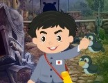 G4K Japanese Boy Escape