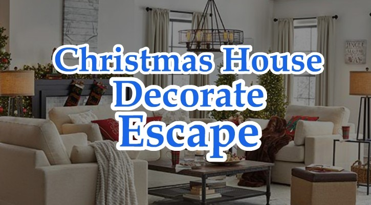 GFG Christmas House Decorate Escape