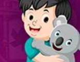 G4K Little Boy And Koala Escape
