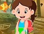G4K Pretty School Girl Escape