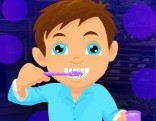 G4K Tooth Brushing Boy Escape