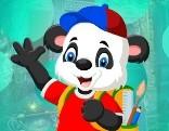 G4K Artsy Panda Bear Escape