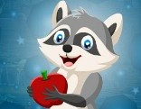 G4K Raccoon Escape With Apple