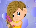 G4K Pretty Combing Girl Escape
