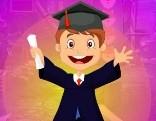 G4K Happy Graduated Boy Escape