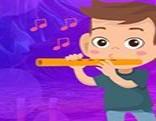 G4K Flute Musician Escape
