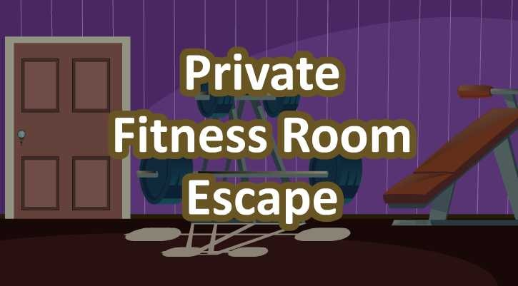 GFG Private Fitness Room Escape