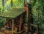 Mountain Forest Cabin Escape