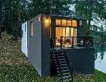 Small Modern Cabin House