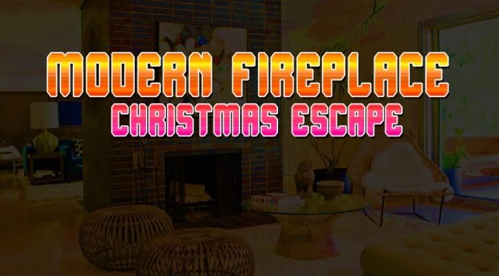 GFG Modern Fireplace Christmas Escape