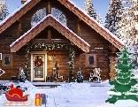 GFG Snowfall Christmas Cabin Escape
