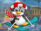 G4K Ski Penguin Escape