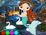 G4K Longing Mermaid Escape
