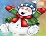 G4K Chubby Snowman Escape