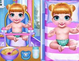 Princess  New  Born  Twins  Baby  Care