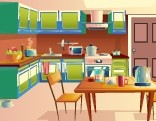 GFG Dazzling Kitchen Door Escape 3