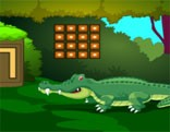 G2M Crocodile Land Escape HTML5