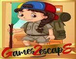 G2E Girl Escape For Camping HTML5