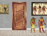 8b Egypt Tutankhamun Gold Mask Escape