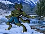 Wow Snow Land Wolf Man Escape