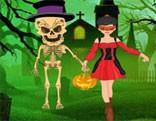 G2R Escape Girl From Evil Skeleton