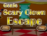 Genie Scary Clown Escape