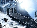 The frozen sleigh creepy castle escape