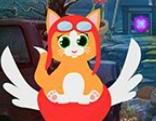 G4K Naughty Ginger Cat Escape
