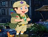 G4K Joyous Scout Boy Escape